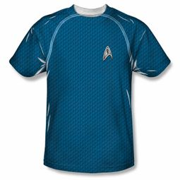 Star Trek Costume Sublimation Shirts