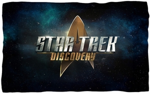 "Star Trek Discovery Microfiber Fleece Blanket - 36"" X 58"""