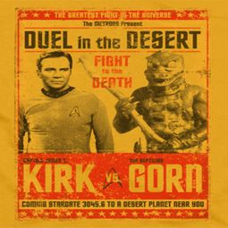 Star Trek Duel In The Desert Shirts