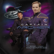 Star Trek - Enterprise Captain Archer Shirts