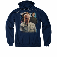Star Trek - Enterprise Hoodie Sweatshirt Doctor Phlox Navy Adult Hoody Sweat Shirt