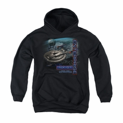 Star Trek - Enterprise Youth Hoodie Enterprise NX 01 Black Kids Hoody