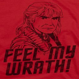 Star Trek Feel My Wrath Shirts