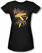 Star Trek Juniors T-shirt - Set Phasers Black Tee