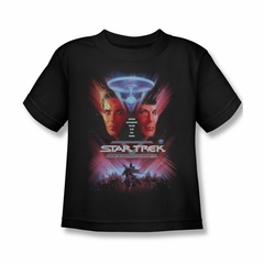 Star Trek - Movies Shirt Kids The Final Frontier Black Youth Tee T-Shirt
