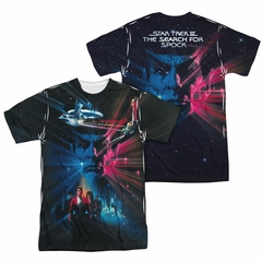 Star Trek - Movies ST3 Poster Sublimation Shirt Front/Back Print