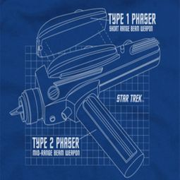 Star Trek Phaser Prints Shirts