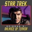 Star Trek Shirt Balance Of Terror Adult Charcoal Tee T-Shirt