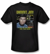 Star Trek Shirt Dr McCoy All of The Above Adult Black Tee T-Shirt