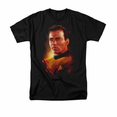 Star Trek Shirt Epic Kirk Black T-Shirt