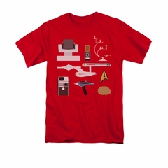Star Trek Shirt Gift Set Red T-Shirt