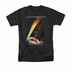 Star Trek Shirt Insurrection Black T-Shirt