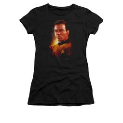 Star Trek Shirt Juniors Epic Kirk Black T-Shirt