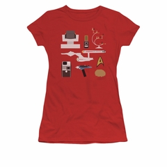 Star Trek Shirt Juniors Gift Set Red T-Shirt