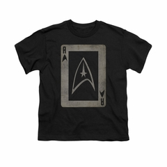 Star Trek Shirt Kids Ace Black T-Shirt