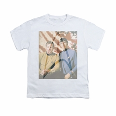 Star Trek Shirt Kids Classic Duo White T-Shirt