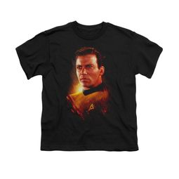 Star Trek Shirt Kids Epic Kirk Black T-Shirt