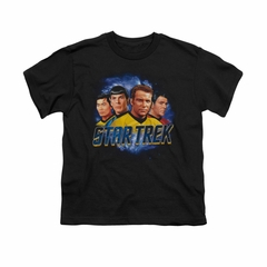 Star Trek Shirt Kids The Boys Black T-Shirt