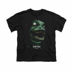 Star Trek Shirt Kids The Gorn Black T-Shirt