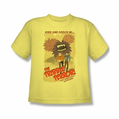 Star Trek Shirt Kids Tribble Terror Banana T-Shirt