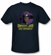 Star Trek Shirt Not A Hair Dresser Adult Navy Blue Tee T-Shirt