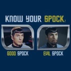Star Trek Shirts - Know Your Spock T-Shirts