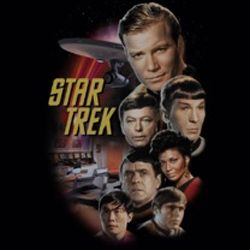Star Trek Shirts - The Classic Crew T-Shirts