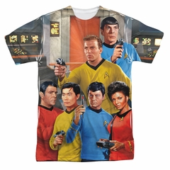 Star Trek Shirts - The Original Series Bridge Sublimation Shirt