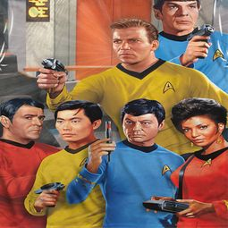 Star Trek Shirts - The Original Series Bridge Sublimation Shirts