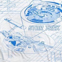 Star Trek - The Original Series Bridge Zoom Sublimation Shirts