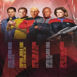 Star Trek - The Original Series Captains Sublimation Shirts