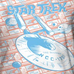 Star Trek - The Original Series Incoming Sublimation Shirts