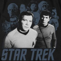 Star Trek - The Original Series Kirk Spock And Company Shirts