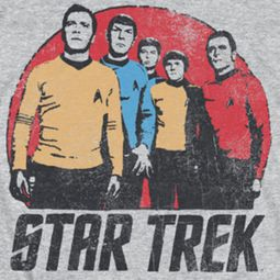 Star Trek Shirts - The Original Series Landing Party Shirts