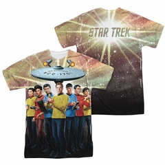 Star Trek Shirts - The Original Series Original Crew Sublimation Shirt Front/Back Print
