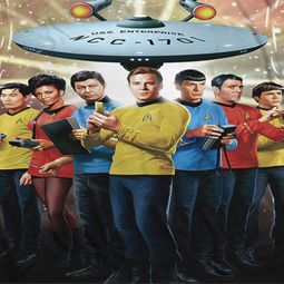Star Trek Shirts - The Original Series Original Crew Sublimation Shirts