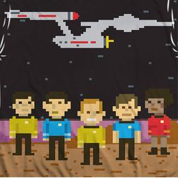 Star Trek - The Original Series Pixel Crew Sublimation Shirts