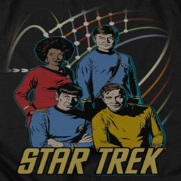 Star Trek - The Original Series Warp Factor 4 Shirts