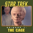 Star Trek T-shirt - Episode 1 The Cage Adult Army Green