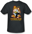 Star Trek T-shirt - Not As Frustrating Cartoon Adult Charcoal