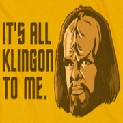 Star Trek - The Next Generation All Klingon Shirts