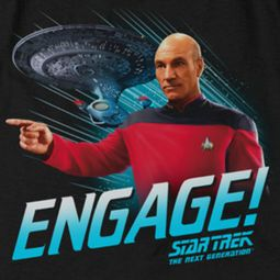 Star Trek - The Next Generation Engage Shirts