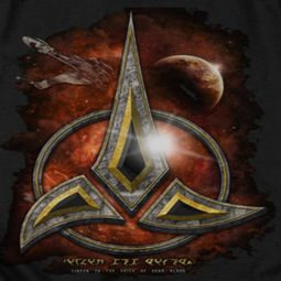 Star Trek - The Next Generation Klingon Crest Shirts