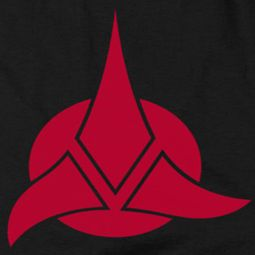 Star Trek - The Next Generation Klingon Logo Shirts
