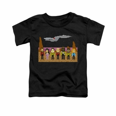 Star Trek - The Next Generation Shirt Kids TNG Trexel Crew Black Youth Tee T-Shirt