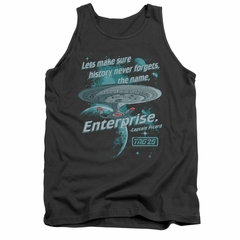Star Trek - The Next Generation Tank Top Never Forget Charcoal Tanktop