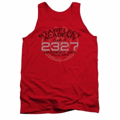 Star Trek - The Next Generation Tank Top Picard Graduation Red Tanktop