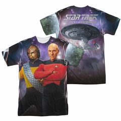 Star Trek - The Next Generation TNG Sublimation Shirt Front/Back Print