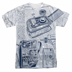 Star Trek - The Original Series Gadgets Sublimation Shirt
