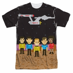 Star Trek - The Original Series Pixel Crew Sublimation Shirt